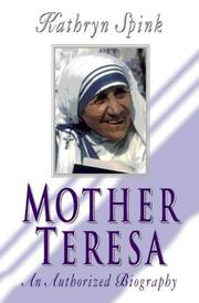 Cover of: MOTHER TERESA |