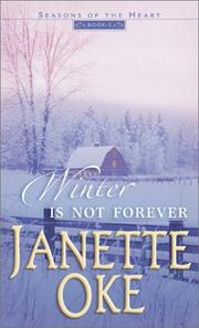 Cover of: Winter is Not Forever (Seasons of the Heart #3)