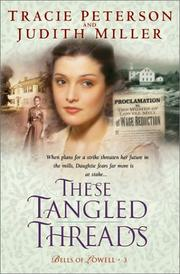 Cover of: These tangled threads