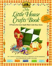 Cover of: My Little House crafts book