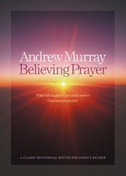 Cover of: Believing prayer | Andrew Murray
