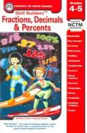Cover of: Skill Builders Fractions, Decimals, & Percents | R. B. Snow