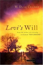 Cover of: Levi's will | W. Dale Cramer