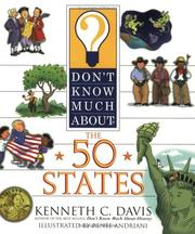 Cover of: Don't Know Much About the 50 States (Don't Know Much About)