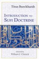 Cover of: Introduction to Sufi Doctrine