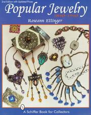 Cover of: Popular Jewelry, 1840-1940
