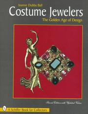 Cover of: Costume Jewelers | Joanne Dubbs Ball