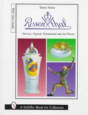 Cover of: Rosenthal dining services, figurines, ornaments, and art objects