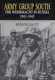 Cover of: Army Group South | Haupt, Werner