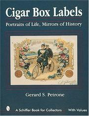 Cover of: Cigar box labels | Gerard S. Petrone