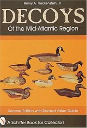 Cover of: Decoys of the mid-Atlantic region | Henry A. Fleckenstein