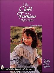 Cover of: The Child in Fashion
