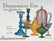 Cover of: Depression era stems & tableware