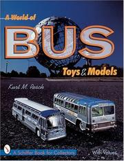 Cover of: A world of bus toys and models