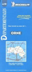 Cover of: Michelin Orne, France |