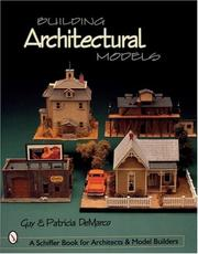Cover of: Building architectural models