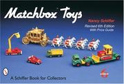 Cover of: Matchbox toys