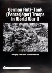 Cover of: German anti-tank (Panzerjäger) troops in World War II