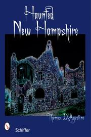 Cover of: Haunted New Hampshire | Thomas D