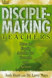Cover of: Disciple-making teachers