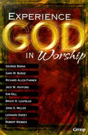 Cover of: Experiencing God in Worship