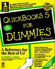 Cover of: QuickBooks 5 for dummies | Stephen L. Nelson