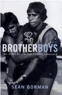 Cover of: Brother Boys | Sean Gorman
