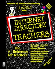 Cover of: Internet directory for teachers
