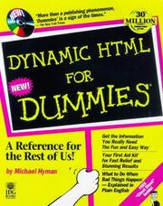 Cover of: Dynamic HTML for dummies