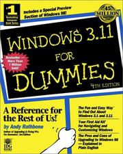 Windows 3.11 for dummies