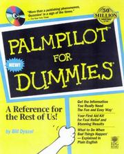 Cover of: Palm Pilot for Dummies