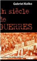 Cover of: UN Siecle De Guerres