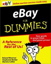 Cover of: Ebay for dummies