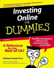 Cover of: Investing Online for Dummies | Kathleen Sindell