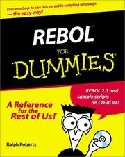 Cover of: REBOL for Dummies