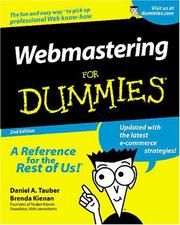 Cover of: Webmastering for dummies