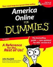 Cover of: America Online for dummies
