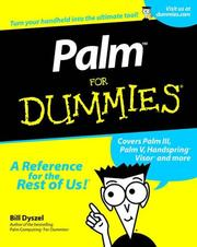 Palm for dummies by Bill Dyszel