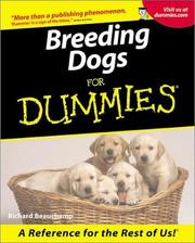 Cover of: Breeding Dogs for Dummies | Richard G. Beauchamp