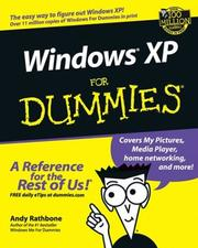 Cover of: Windows XP for Dummies | Andy Rathbone