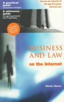 Cover of: Business & Law on the Internet
