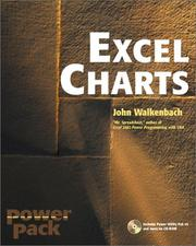 Cover of: Excel charts