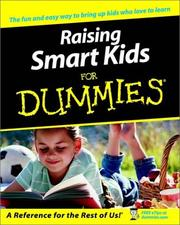 Cover of: Raising smart kids for dummies