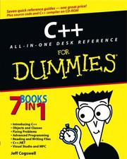 Cover of: C++ All-in-One Desk Reference for Dummies | Jeff Cogswell