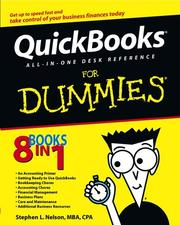 Cover of: Quickbooks all-in-one desk reference for dummies