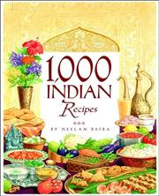 Cover of: 1,000 Indian recipes