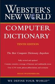 Cover of: Webster's New World Computer Dictionary