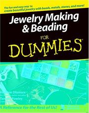 Cover of: Jewelry making & beading for dummies by H. Dismore