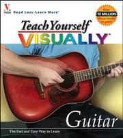 Cover of: Teach yourself visually guitar. |