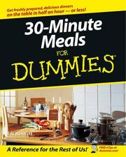 Cover of: 30-Minute Meals for Dummies | Bev Bennett